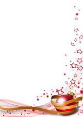 weihnachtlicher Hintergrund modern Hochformat