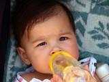 Hydratation de bébé poster