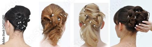 Frisuren zur Hochzeit