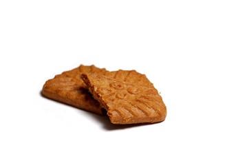 Biscuit en deux