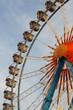 Quadro Oktoberfest: traditionelles Riesenrad