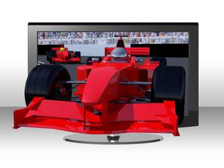 3D TV racing
