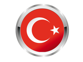Türkei Button - Silver Edition