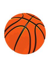 isolated basketball.eps