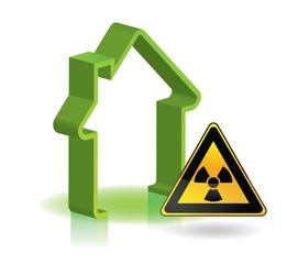 maison radioactive