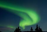 Fototapeta Aurora borealis (Northern lights) display