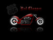CUSTOM CHOPPER RED