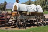 Restored antique wagon poster