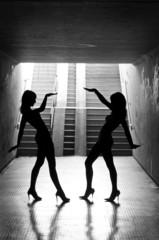 Team Dancer-Silhouettes