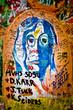 Muro de John Lennon (Praga) - Retrato (Toma 3)