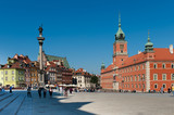 Fototapety Old Town in Warsaw