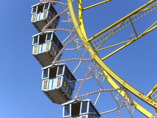 Riesenrad, Oktobergfest, Wasen, Volksfest, Bayern, Prater