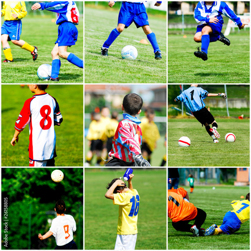 collage calcio