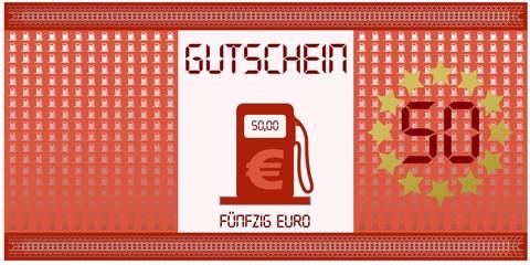 Tankgutschein 50 Euro