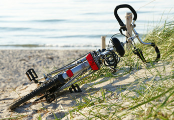 Fahrrad am Strand - Bike at the Beach