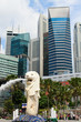 Merlion the symbol of Singapore