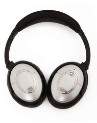 Noise Canceling Headphones Laying Flat