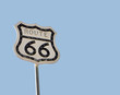 Historic route 66 in America