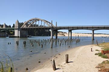 Bridge on the Siuslaw River, Oregon