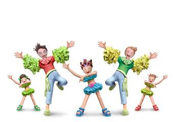 踊るサンバチーム