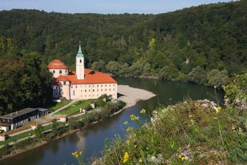 weltenburg abbey on the danube, bavaria, germany