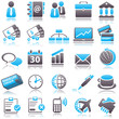 business Blue Icons