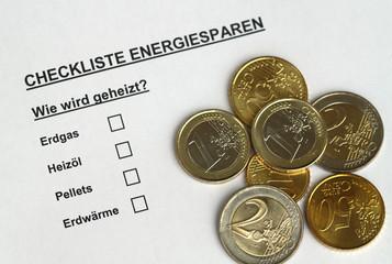 Checkliste Energiesparen V