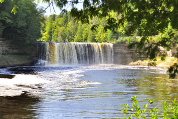Upper Tahquamenon Falls in Michigan
