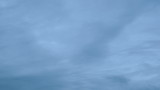 Blue Overcast Clouds on the Horizon Timelapse poster