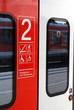 S-Bahn Zug Tür