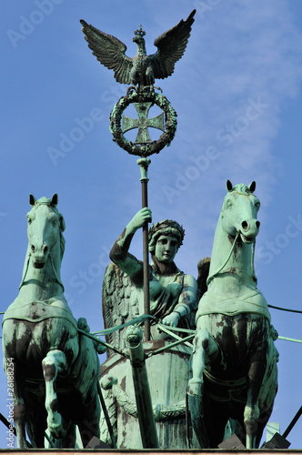 Quadriga and the goddess of victory, Brandeburg Gate