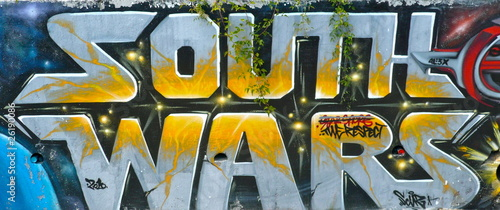 Graffiti South Wars