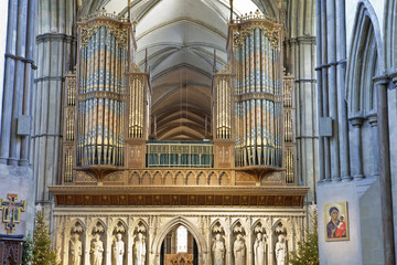 Interior Of Rochester Cathedral Kent