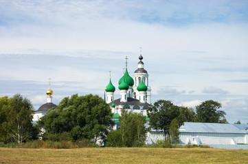 Fourteenth century monastery in Yaroslavl, Russia