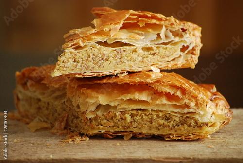 Papiers peints Dessert part de galette des rois