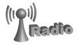 Funkverbindung 3D Grafik - Radio