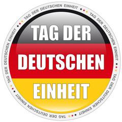 Button - Tag der Deutschen Einheit