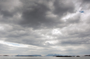 Big sky over the Inner Hebrides