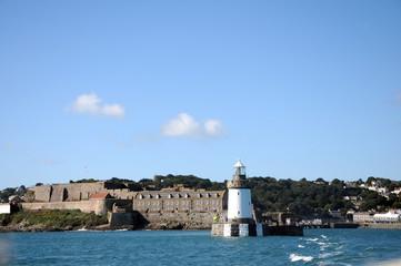 Lighthouse at Saint Peter Port, Guernsey