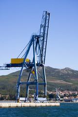 grua del puerto