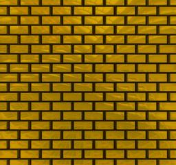 Gold bricks texture