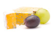 Cheese and grape