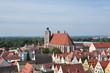 Leinwanddruck Bild - Ingolstadt und Münster