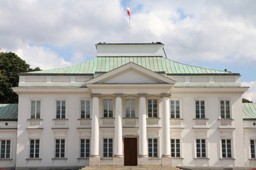 Warsaw - Belvedere palace