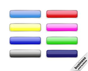 Business Web Button Set