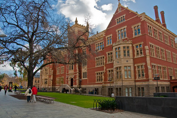a wing of adelaide university, south australia