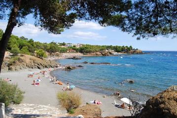 Playa de les Tonyines (Costa Brava, Girona)