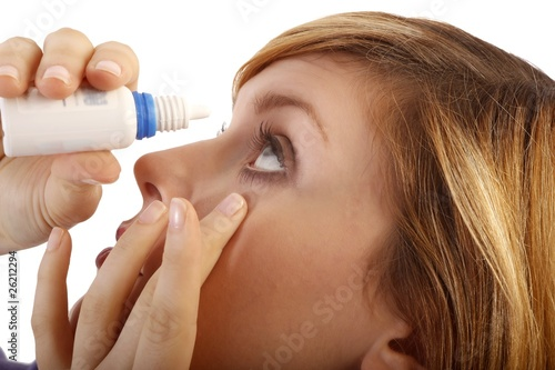 canvas print picture eyedrops (white background)