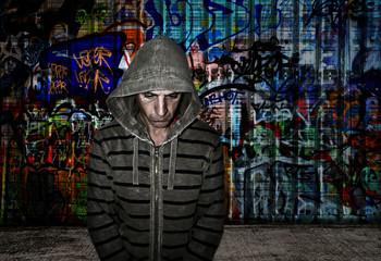 urban graffiti artist