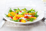 Orange and cheese salad